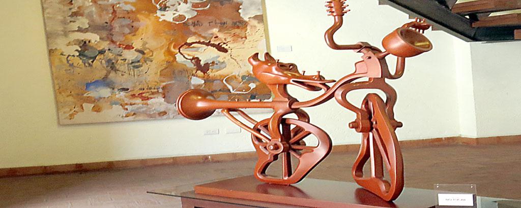 Dos artistas italianos y dos mexicanos integran Ensamble en la Galería Lazcarro