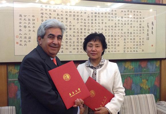 UDLAP firma convenios de colaboración en China