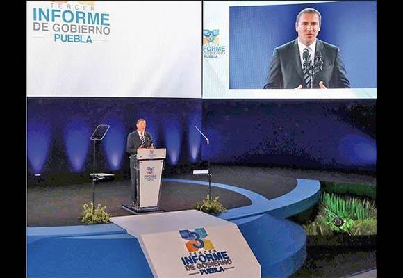 Ratifica TEPJF multa contra televisora que promovió informe de Moreno Valle