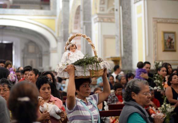 Roban piezas de oro en la iglesia del Calvario en San Pedro Cholula