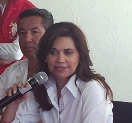 Blanca Alcalá pidió a Moreno Valle que saque las manos de la elección
