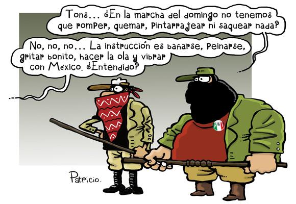 """""""Vibra México"""" - Los monos de Patricio"""