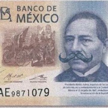 El billete de Don Porfirio