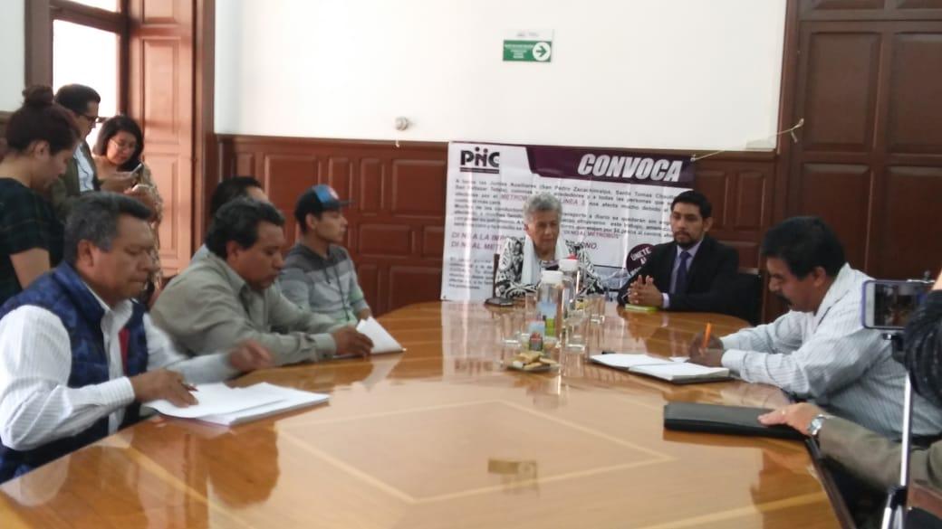 Juntas auxiliares de Puebla impedirían la circulación de la Línea 3 del metrobus