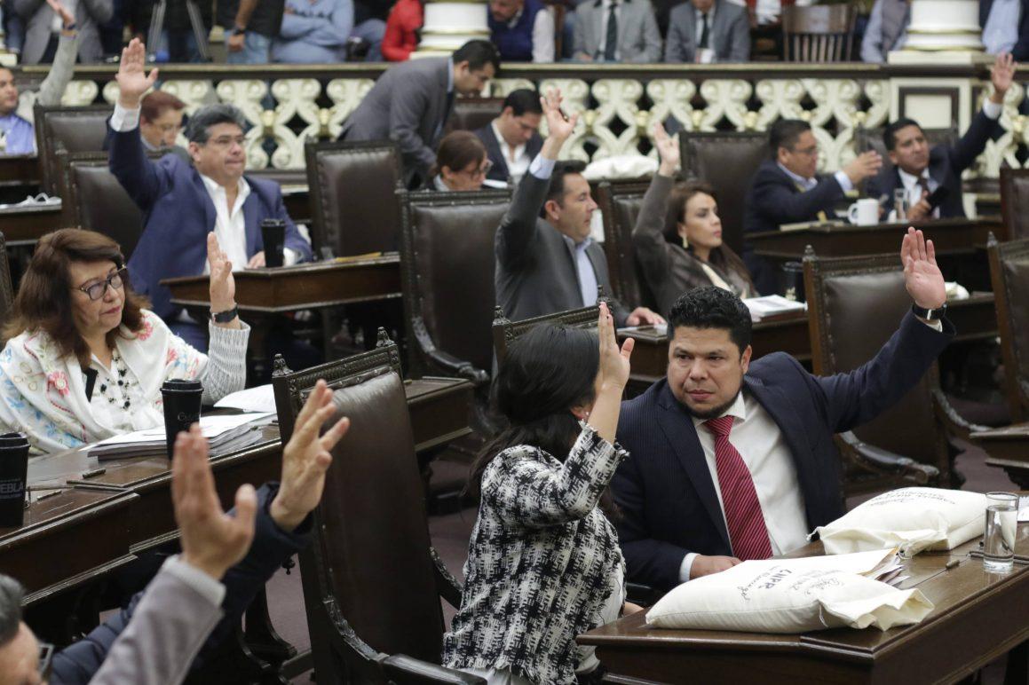 Convoca Congreso de Puebla elección extraordinaria de gobernador para el 2 de junio