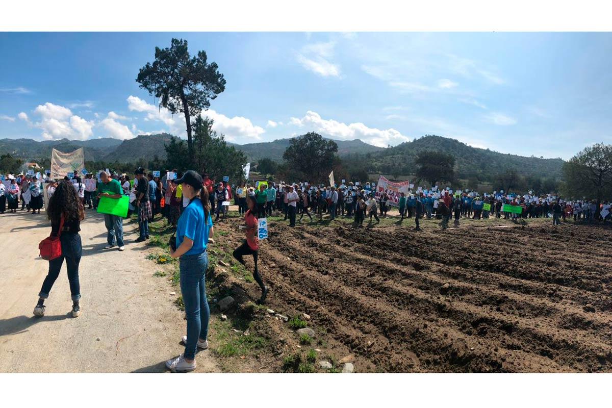Piden a la Semarnat que proyecto de Minera Gorrión en Ixtacamaxtitlán se lleve a cabo