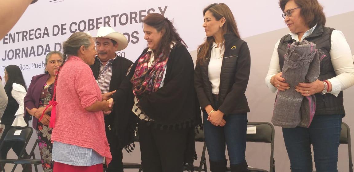 El gobierno de Luis Miguel Barbosa es de causas, dice María del Rosario Orozco en Tochimilco