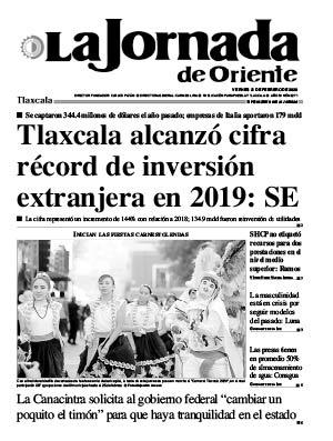 21 de febrero de 2020 | 6271 | Tlaxcala