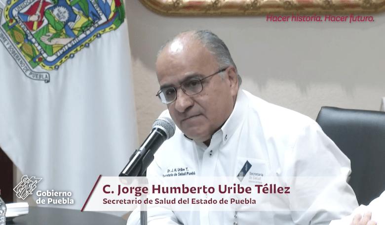Alcanza Puebla los 911 contagios acumulados de Covid–19; se disparan decesos a 188