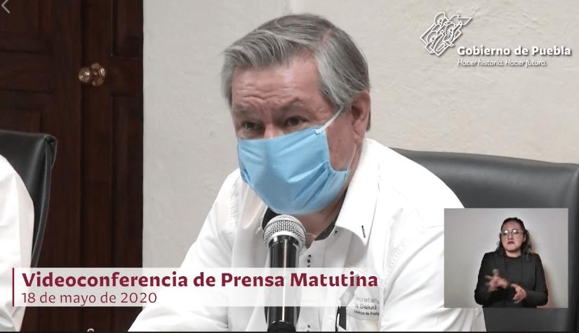 Puebla rebasó 300 muertes por Covid–19, en promedio hay 80 contagios por día: Ssa