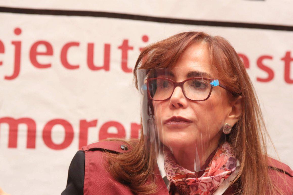 Hay malos manejos en Morena Puebla, como pagar 85 mil pesos de renta mensual: Yeidckol Polevnsky