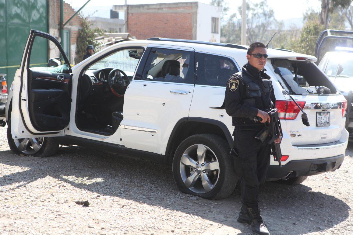 Sufre ataque armado camioneta de la alcalde de Tepango de Rodríguez